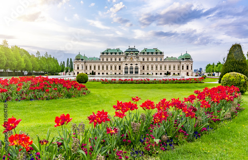 Photo  Upper Belvedere palace, Vienna, Austria