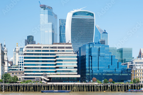 The City of London on a sunny summer day Wallpaper Mural