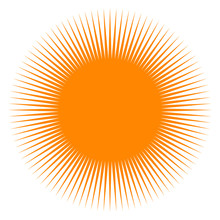 Sun Icon Vector Design. Sun Il...