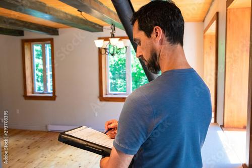 Fotografie, Obraz Indoor damp & air quality (IAQ) testing