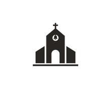 Church Icon Symbol Vector