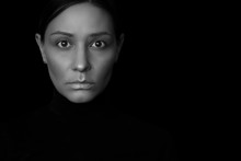 Portrait Of A Woman Black And ...