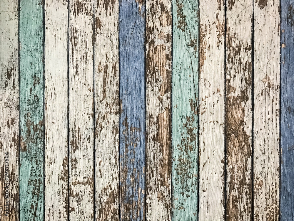 Fototapety, obrazy: Old Vintage Wood material background