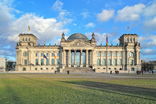 Reichstag Building In Berlin, ...