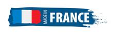 France Flag, Vector Illustration On A White Background.