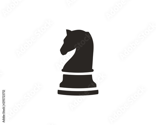 Fototapeta  Chess knight icon symbol vector