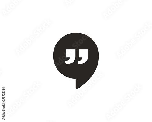 Obraz Talk icon symbol vector - fototapety do salonu