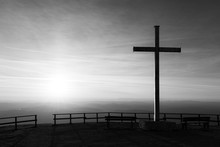 Cross On Top Of Mt. Serrasanta...
