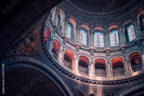 Dome of the Sacre-Coeur basilica in Montmartre, Paris Canvas Print