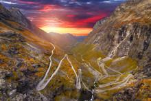 Trollstigen - Windy Road In No...