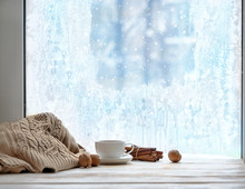 Cozy Winter Still Life With Cu...