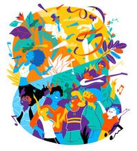 Poster For Summer Music Festiv...