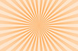 Leinwandbild Motiv Orange pastel color rays abstract background, can use for test the resolution and focus of cameras and photo or cinema lens.