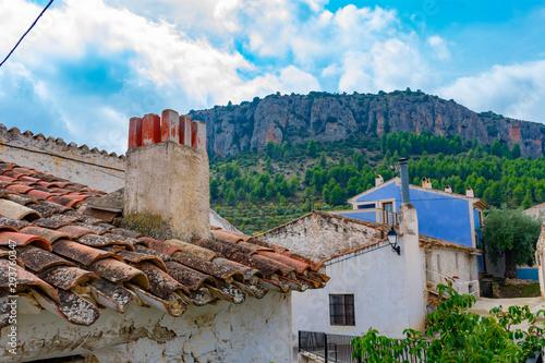 Aldea de Benizar, situado a mas de 800 sobre el nivel del mar , pertenece a Mora Canvas Print