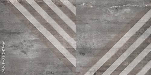Obraz na plátně  Concrete Stone mosaic tile. Cement background