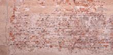 Textured Orange Wall Backgroun...