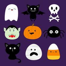 Happy Halloween. Candy Corn, G...