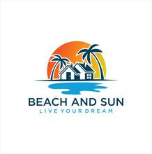 Marine Property Logo Design Il...