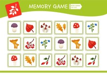 Memory Game For Preschool Chil...