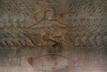 Bas Reliefs In Angkor Wat One ...