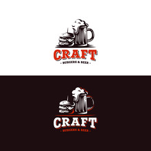 The Craft Burgers And Beer - Badge