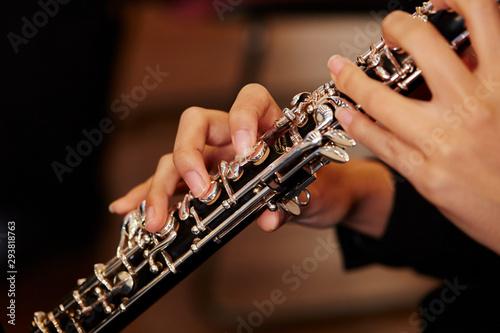 man playing saxophone - 293818763