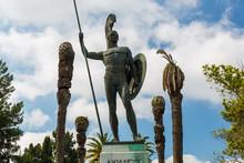 Statue Der Siegreiche Achill