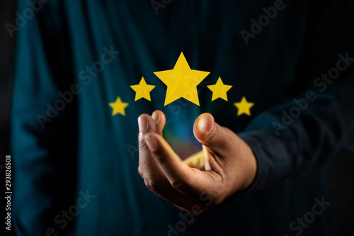 Fototapeta  Customer Experiences Concept
