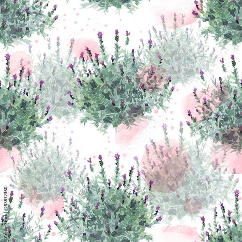 watecolor-francuskie-krzewy-lawendy-delikatny-wzor-na-bialym-tle-z-pastelowymi-rozowymi-plamami