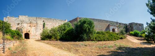 Cuadros en Lienzo Niokastro, Neokastro or New Navarino Pylos Fortress in Pylos different views of