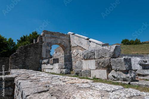 The Italico Sanctuary of Pietrabbondante Canvas-taulu