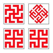 Swastika Pattern Collection 12