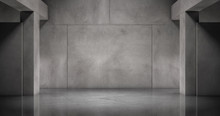 Moderne Beton Wand Mit Marmor ...