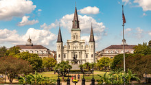 Jackson Square In New Orleans,...