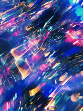 Abstract Christmas Tree Bokeh
