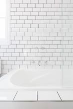 Bathroom Tiled Background