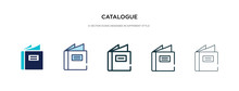 Catalogue Icon In Different St...