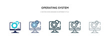 Operating System Icon In Diffe...