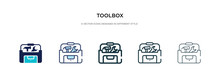 Toolbox Icon In Different Styl...
