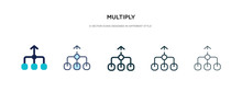 Multiply Icon In Different Sty...