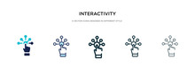 Interactivity Icon In Differen...