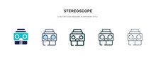 Stereoscope Icon In Different ...