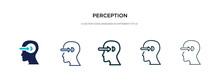 Perception Icon In Different S...