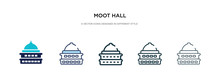 Moot Hall Icon In Different St...