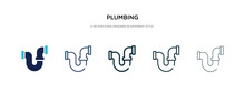 Plumbing Icon In Different Sty...