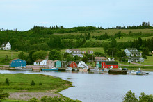 French River Fishing Village In Prince Edward Island