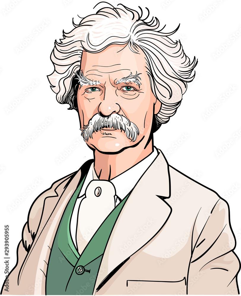 Fototapeta Mark Twain