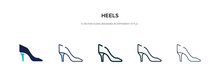 Heels Icon In Different Style ...