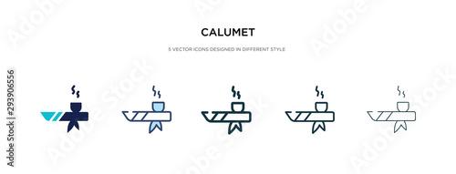 Fényképezés calumet icon in different style vector illustration