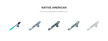 Native American Spear Icon In ...